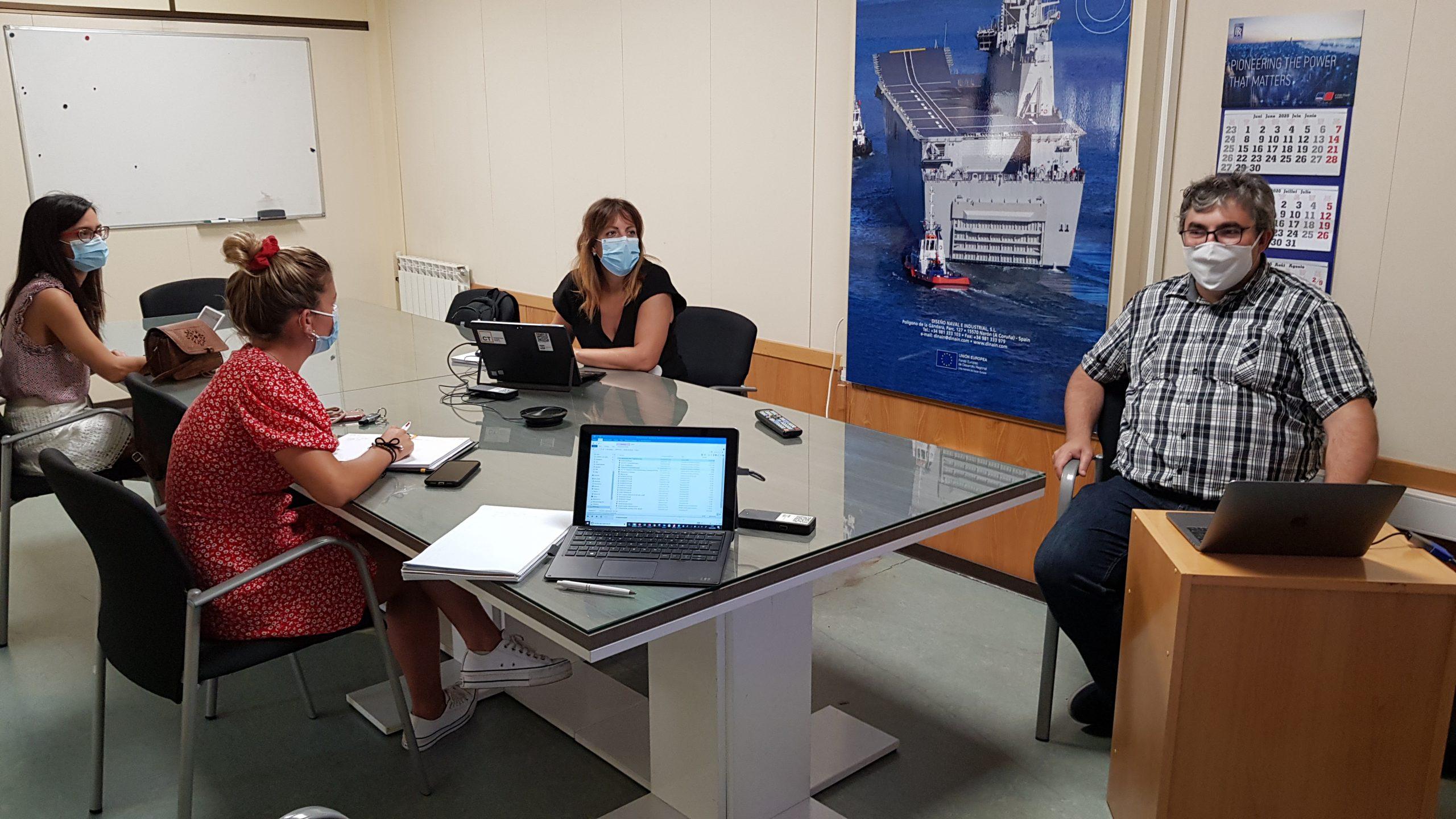 CT Ingenieros and UDC team