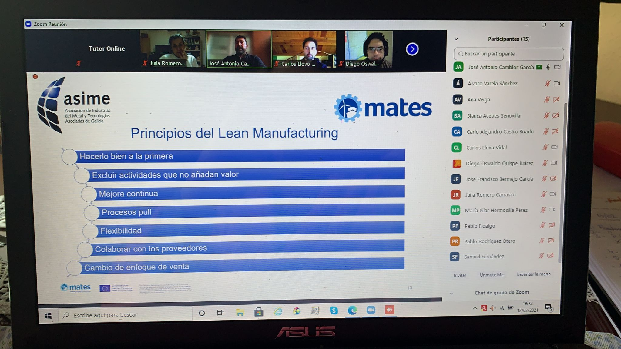 MATES Innovation Manager Course online 12/02/2021